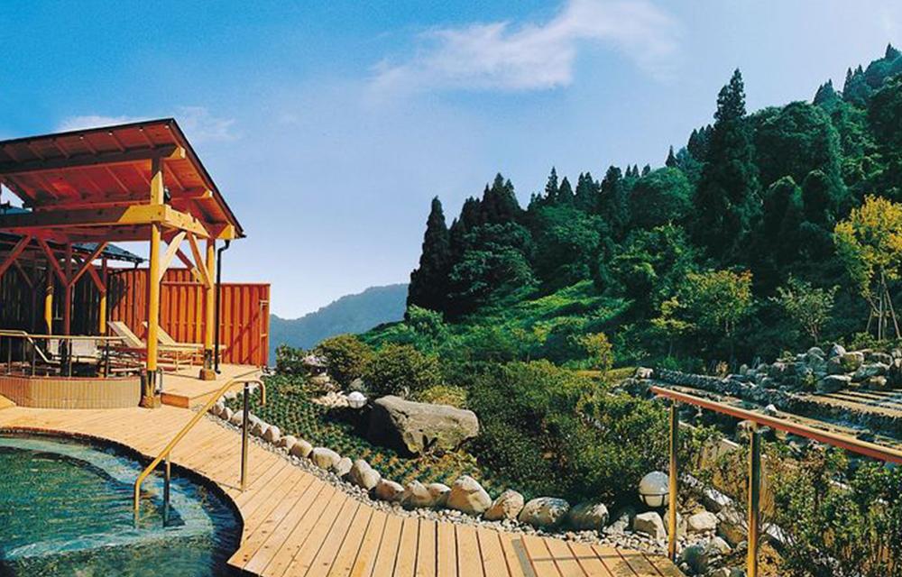 露天溫泉浴池(6樓)