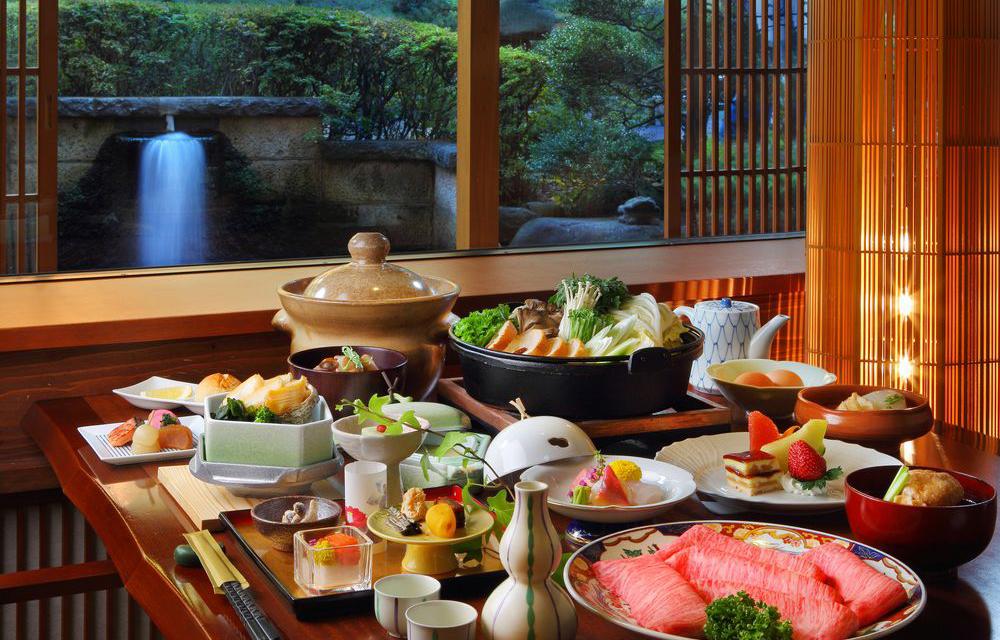 山形牛が味わえる和食料理(イメージ)