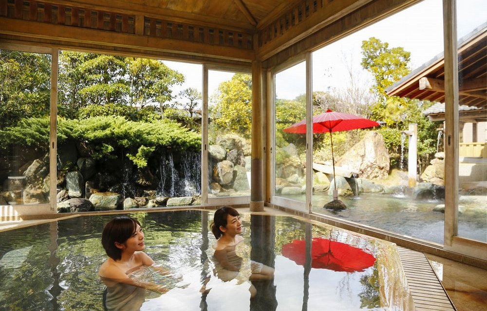 庭園露天風呂内湯