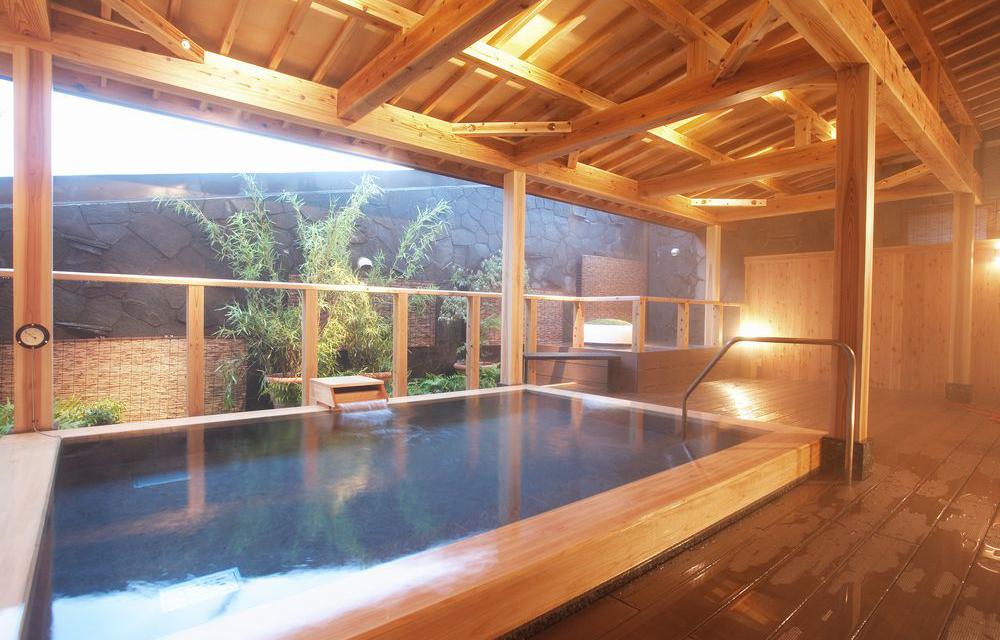 木曾柏木露天溫泉浴池
