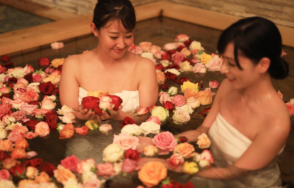 薔薇溫泉浴池(其中的一個女性浴場)