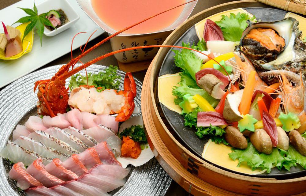 以海鮮為主的料理