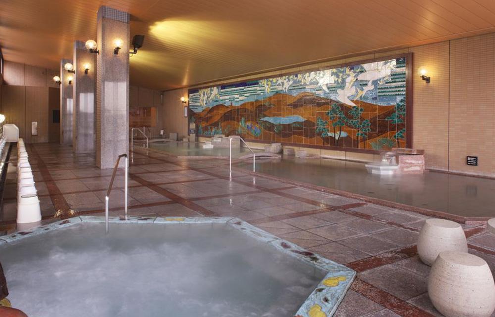 壁畫大浴殿